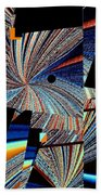 Geometric Abstract 1 Beach Towel