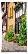 German Old Village Quedlinburg Beach Towel