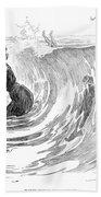 Gibson: Bather, 1902 Beach Towel