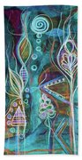Glow Beach Towel