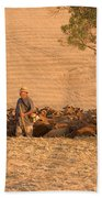 Goatherd Beach Towel