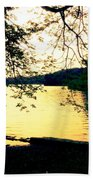 Golden Days Beach Towel