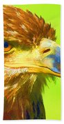 Golden Eagle Beach Towel