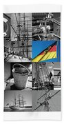 Gorch Fock 1958 Beach Towel