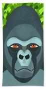 Gorilla Beach Towel