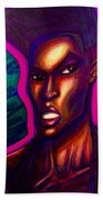 Grace Jones Beach Towel