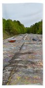 Graffiti Highway, Facing North Beach Towel