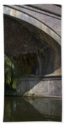 Grand Union Canal Bridge 181 Beach Towel