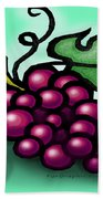 Grapes Beach Towel