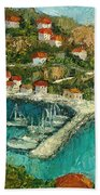 Greek Island Beach Towel