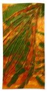 Green  - Tile Beach Towel
