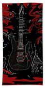 Guitar Of Wonder  Beach Towel