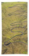 Haleakala Highway Beach Towel