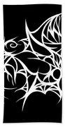 Hallowweb Beach Towel