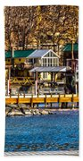 Hammondsport Docks Beach Towel