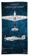 Hawker Hurricane Beach Towel