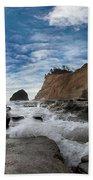 Haystack Rock At Cape Kiwanda Beach Sheet