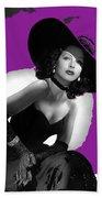 Hedy Lamarr C.1947-2013 Beach Towel
