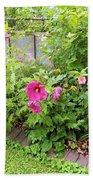 Hibiscus In The Garden Beach Towel