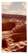 Historic Indian Ruins  Beach Towel