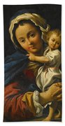 Holy Family Beach Towel
