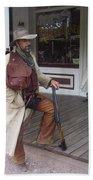 Hondo Re-enactor Helldorado Days Tombstone Arizona 2004 Beach Towel