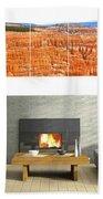 Hoodoos Of Bryce Canyon Beach Towel