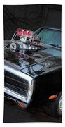Hot Rod Beach Towel