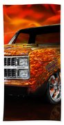 Hot Rod Chevrolet Scotsdale 1978 Beach Towel