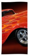 Hot Rod Ford Coupe 1932 Beach Towel