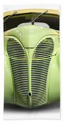 Hot Rod Ford Coupe 1938 Beach Towel