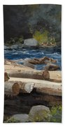 Hudson River Beach Towel
