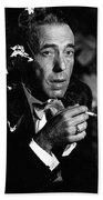 Humphrey Bogart Portrait #1 Circa 1954-2014 Beach Towel