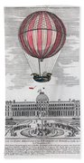 Hydrogen Balloon, 1783 Beach Towel