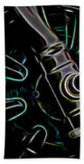 In Color Abstract 11 Beach Towel