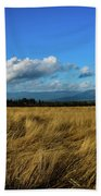Into The Grasslands. Beach Towel