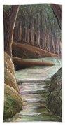 Into The Woods II Beach Towel