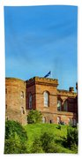 Inverness Castle, Scotland Beach Towel