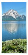 Jackson Lake Teton Panorama Beach Towel