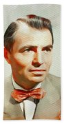 James Mason, Vintage Movie Star Beach Sheet