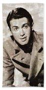 James Stewart Hollywood Actor Beach Sheet