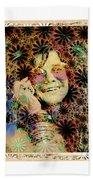 Janis Joplin Beach Towel