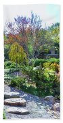 Japanese Garden 3 Beach Towel