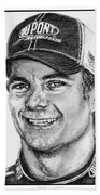 Jeff Gordon In 2010 Beach Towel