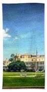 Jekyll Island Club Hotel Beach Towel