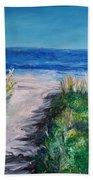 Jersey Shore Dunes Beach Towel