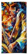 John Coltrane Beach Towel