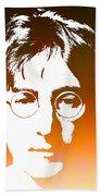 John Lennon The Legend Beach Towel