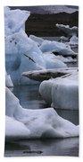 Jokulsarlon Glacier Lagoon Iceland 2431 Beach Towel