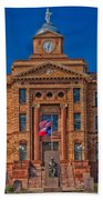 Jones County Courthouse Beach Towel